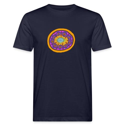 Mandala Pizza - Men's Organic T-Shirt