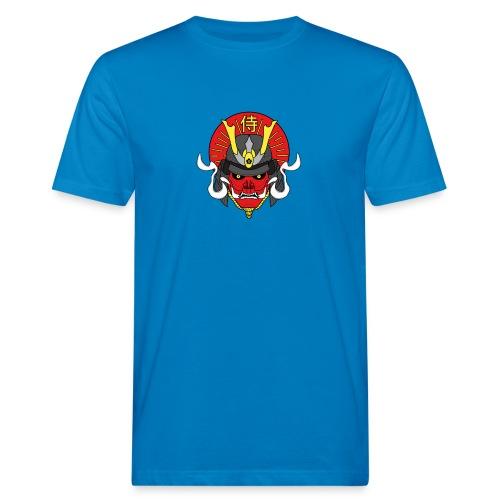 Samouraï Casque Démon - T-shirt bio Homme