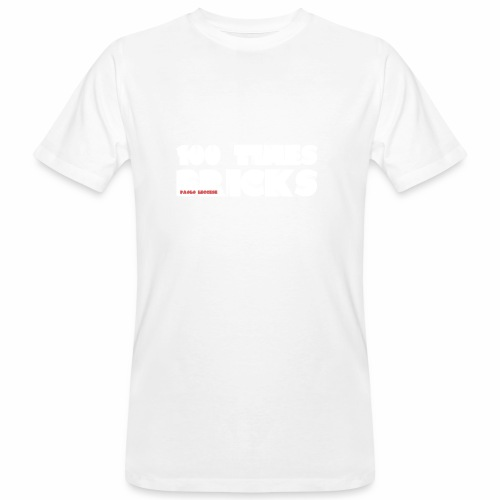 100 TIMES BRICKS retrò - T-shirt ecologica da uomo