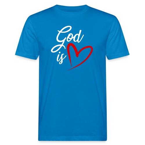 God is love 2B - T-shirt ecologica da uomo