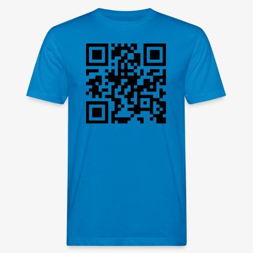 QR Code - Men's Organic T-Shirt