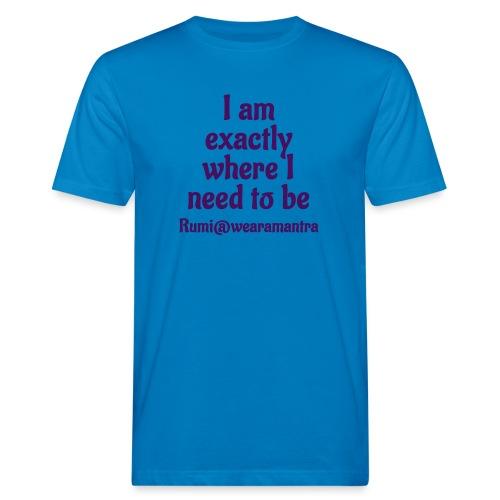 TS Rumi 1 - T-shirt ecologica da uomo