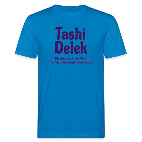 Tashi Delek purple - T-shirt ecologica da uomo