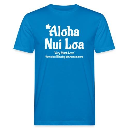 Aloha Nui Loa 2 white - T-shirt ecologica da uomo