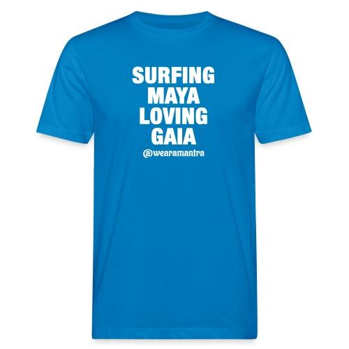 SURFING MAYA LOVING GAIA - T-shirt ecologica da uomo
