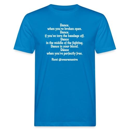 Rumi Dance - T-shirt ecologica da uomo