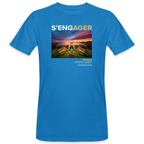 1 Achat = 1 Don à l'association Coeur de forêt - T-shirt bio Homme