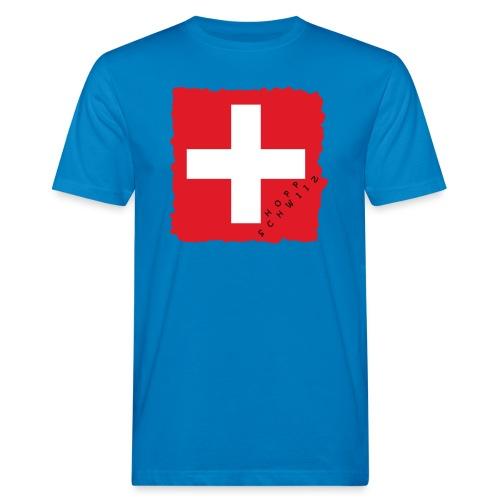 Schweiz 21.1 - Männer Bio-T-Shirt
