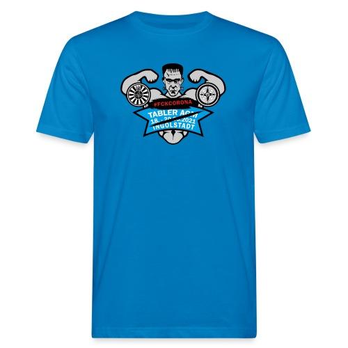 AGM 2021 Logo FCKCORONA 210406 - Männer Bio-T-Shirt
