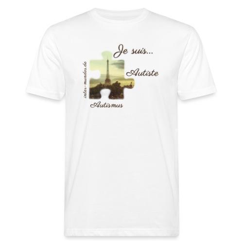 Je suis Autiste - Männer Bio-T-Shirt
