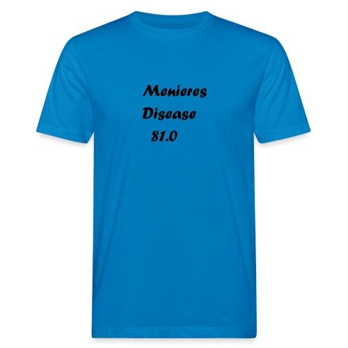 Menieres disease 81.0 - Miesten luonnonmukainen t-paita