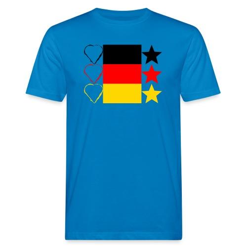 Liebe Deine Stars - Männer Bio-T-Shirt
