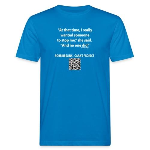 Caras Project fan shirt - Men's Organic T-Shirt