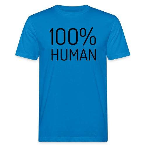 100% Human - Mannen Bio-T-shirt