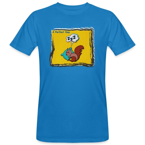 A perfect day - Schlafen - Männer Bio-T-Shirt