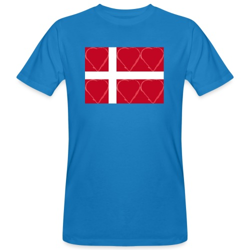 Dänemark 21.2 - Männer Bio-T-Shirt
