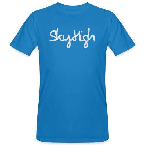 SkyHigh - Women's Hoodie - Gray Lettering - Men's Organic T-Shirt