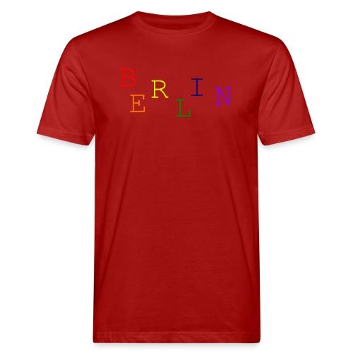 Berlin Rainbow #1 - Männer Bio-T-Shirt