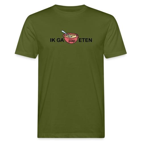 IK GA PAP ETEN - Mannen Bio-T-shirt