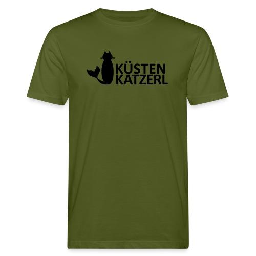 Küstenkatzerl - Männer Bio-T-Shirt