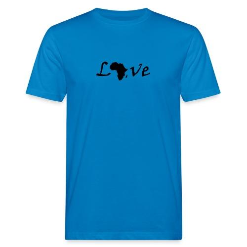 Love Africa - Männer Bio-T-Shirt
