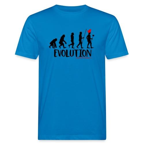 Die Evolution - Männer Bio-T-Shirt
