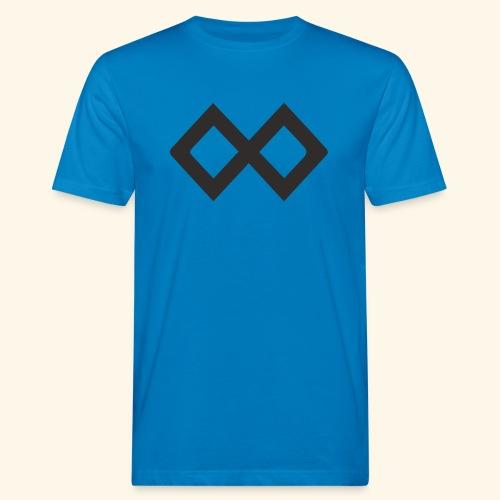 TenX Logo - Männer Bio-T-Shirt