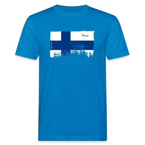 Suomen lippu, Finnish flag T-shirts 151 Products - Miesten luonnonmukainen t-paita