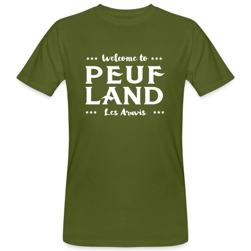 Peuf Land Aravis - White - T-shirt bio Homme