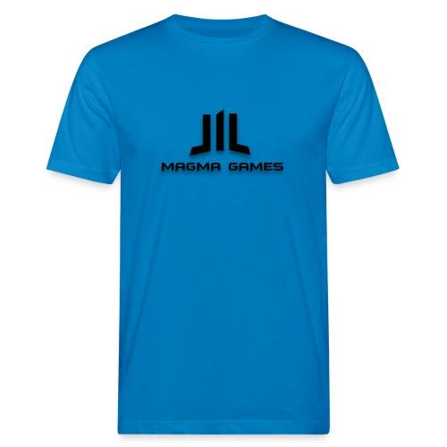 Magma Games hoesje - Mannen Bio-T-shirt