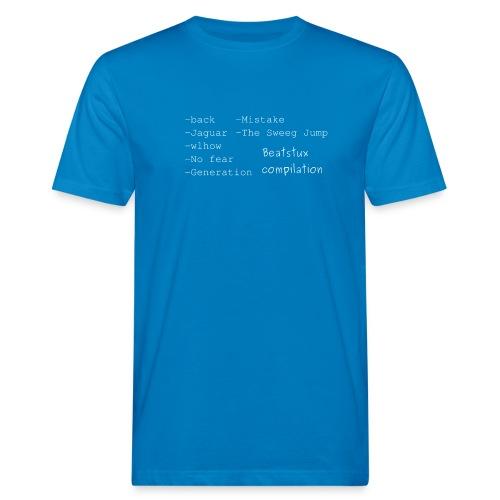 compilation_bianco - T-shirt ecologica da uomo