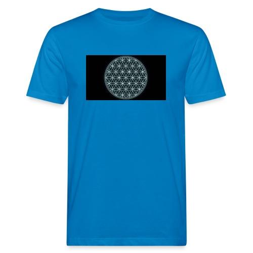 flower of life - Mannen Bio-T-shirt