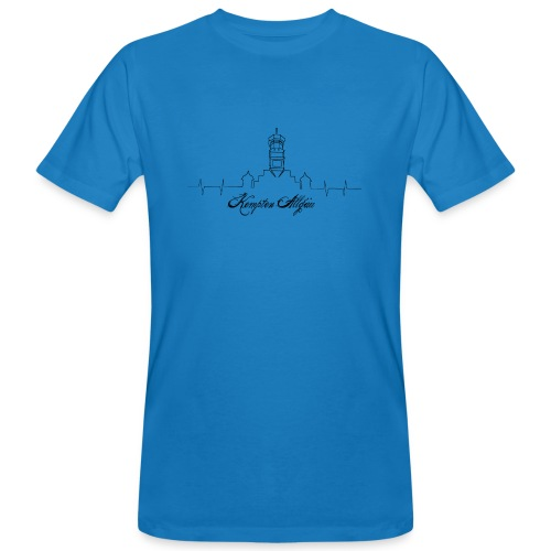 Heartbeat Kempten - Männer Bio-T-Shirt