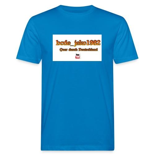 quer durch deutschland - Männer Bio-T-Shirt