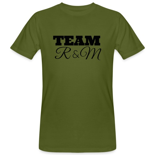 Snapback team r&m - Men's Organic T-Shirt