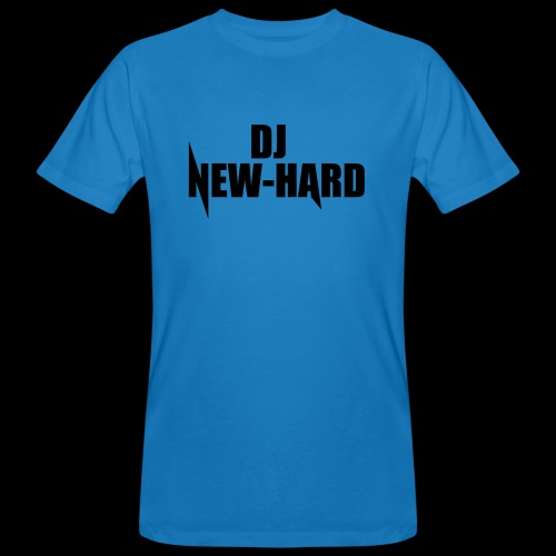 DJ NEW-HARD LOGO - Mannen Bio-T-shirt