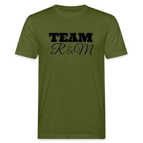 Team R N M Hoodie Black, M - Men's Organic T-Shirt