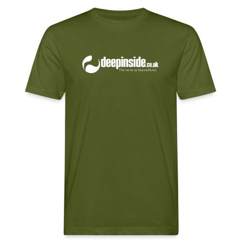 DEEPINSIDE The home of House-Music (White) - Men's Organic T-Shirt