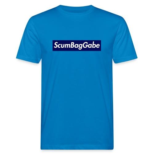ScumBagGabe Blue XL Logo - Men's Organic T-Shirt
