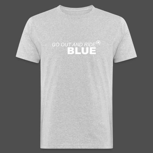 ride blue - Men's Organic T-Shirt