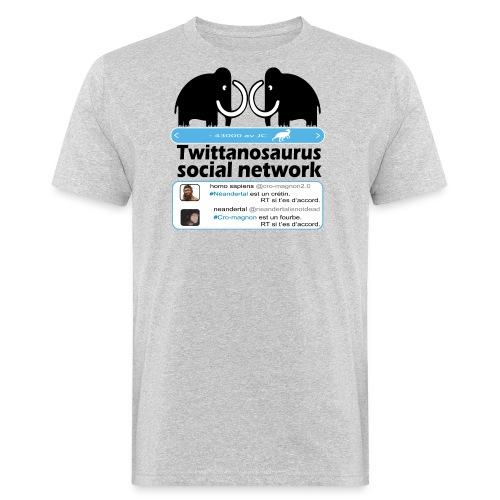 homo sapins versus neandertal - T-shirt bio Homme