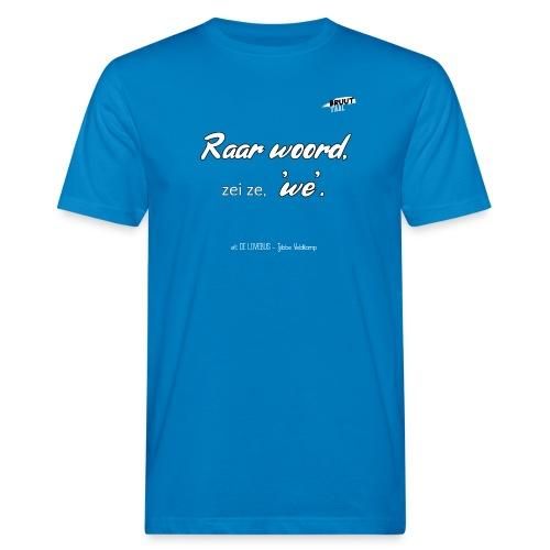 RaarWoord2 1 - Mannen Bio-T-shirt