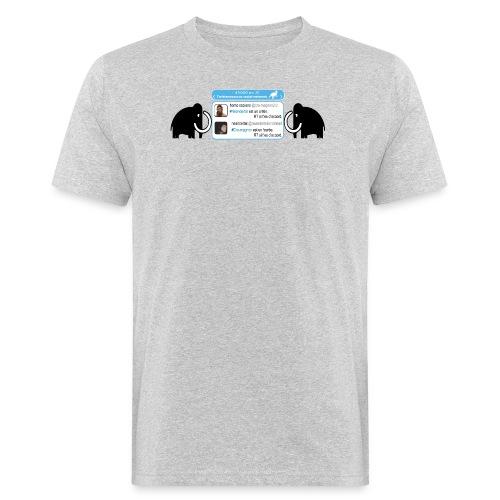 homo-sapiens et néandertal - T-shirt bio Homme
