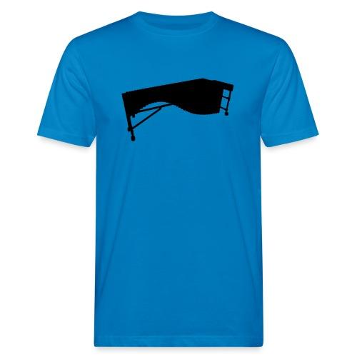 Marimba Kontur - Männer Bio-T-Shirt
