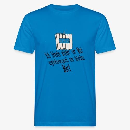 Bomb - Männer Bio-T-Shirt