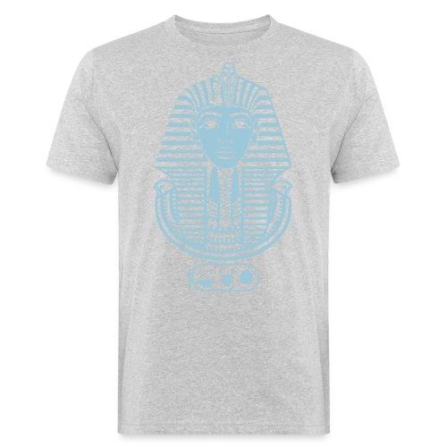 Tutanchamun – Pharao von Ägypten. Auch Golddruck! - Männer Bio-T-Shirt