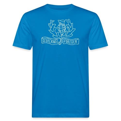 Scotland Forever - Männer Bio-T-Shirt