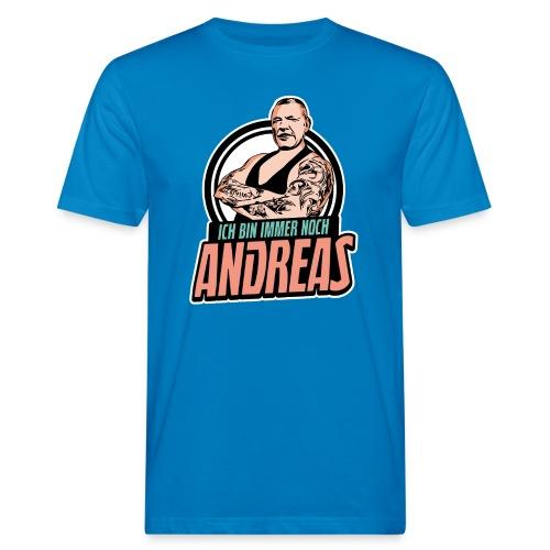Immer-Noch-Andreas-Logo BUNT - Camiseta ecológica hombre