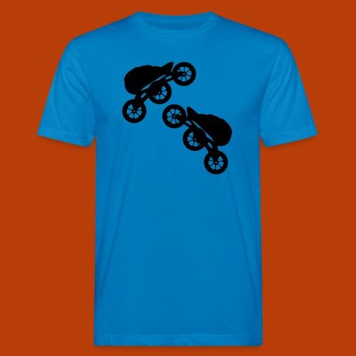 skates 125mm - Männer Bio-T-Shirt