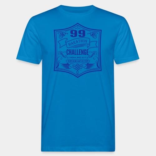 99 marathon challenge - Ekologiczna koszulka męska